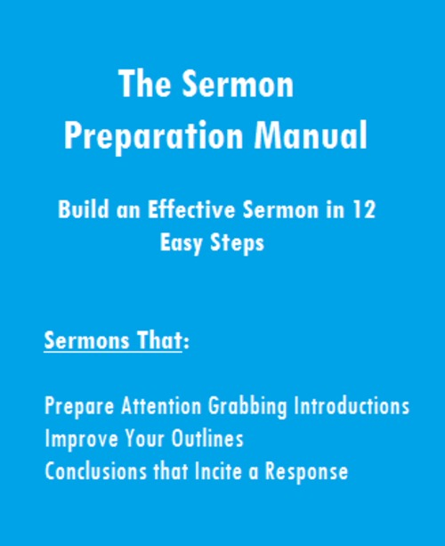 Product picture The Sermon Preparation Manual